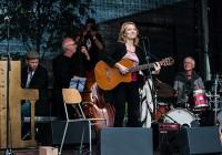 Kristianstad Jazzfestival. Mette Juul, Alex Riel, Heine Hansen, Jesper Lundgaard and Jesper Riis.